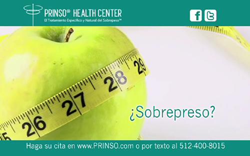 PRINSO ® El Tratamiento Específico y Natural del Problema de Fondo del Sobrepeso ™